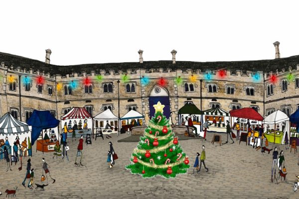 Burghley Fine Food Market at Christmas