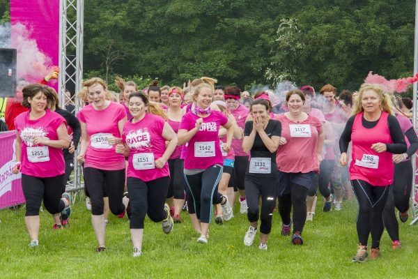 Race for Life at Burghley