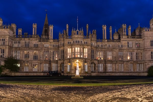 Burghley at Twilight