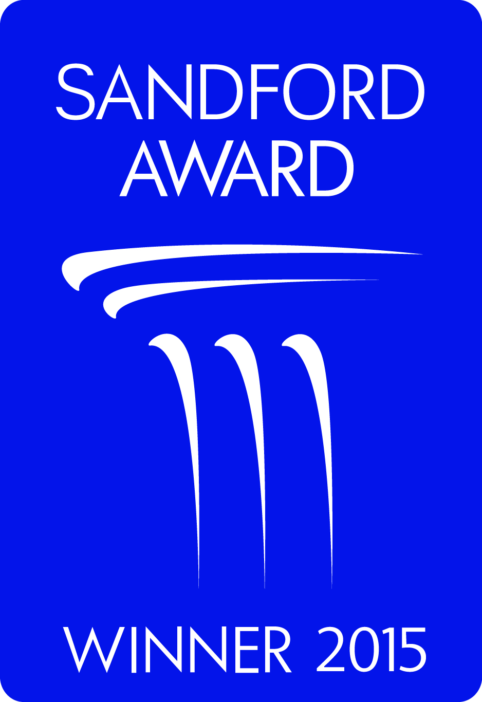 Sandford Award Badge Blue