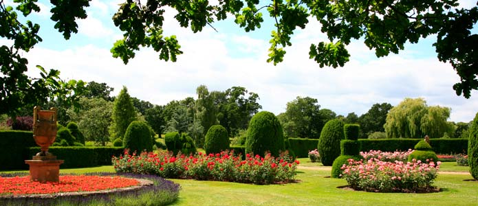 Maintenance Of The Gardens And Park Falls To The Small Team Of Foresters  And Gardeners Who Together Look After More Than 2000 Acres Of Land.