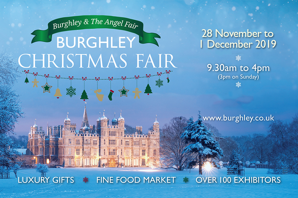Burghley Christmas Fair and a visit to Stamford