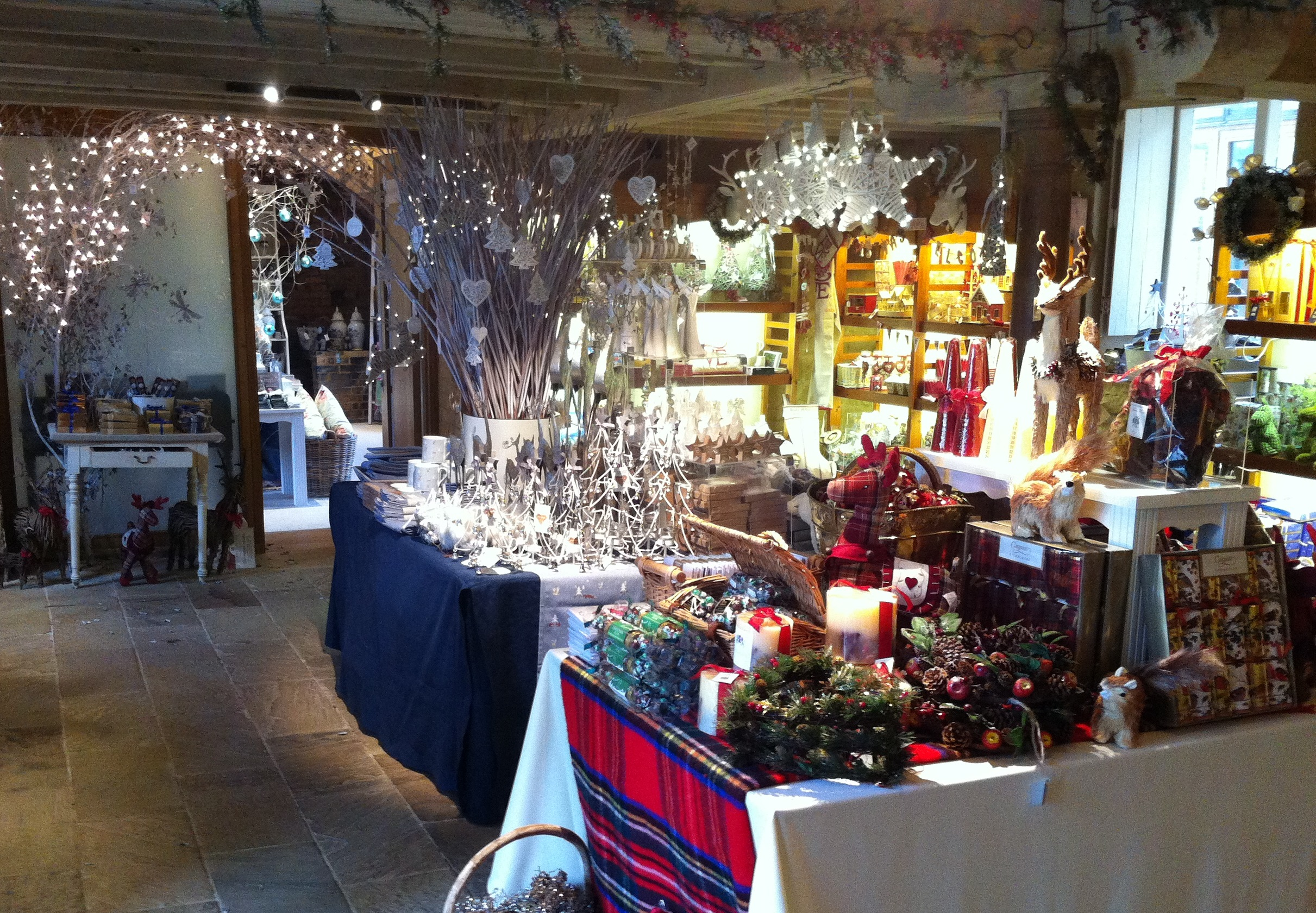 this dedicated festive shop will be in the brewhouse building the entrance is opposite the courtyard shop in the chestnut courtyard - The Christmas Shop